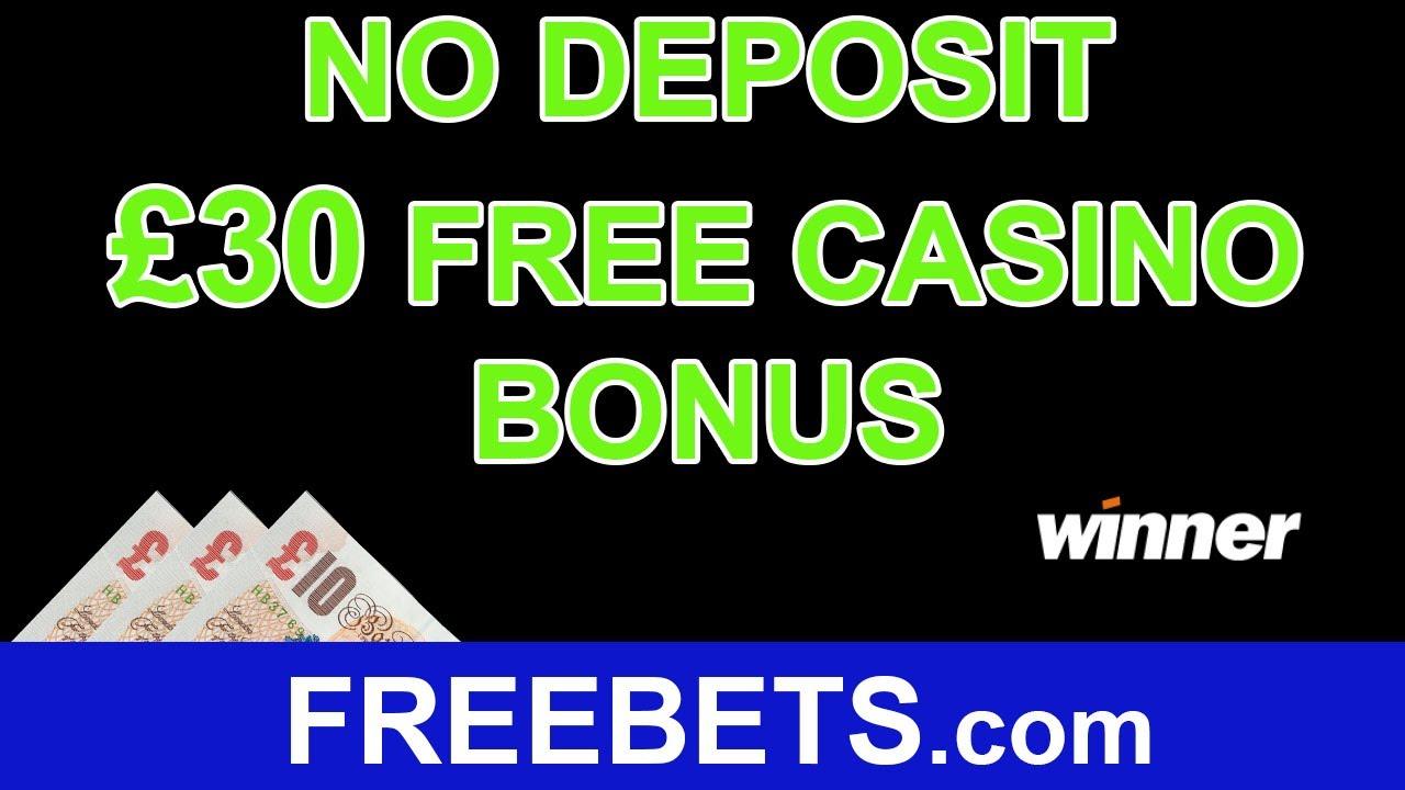 Winner Casino 30 No Deposit Bonus