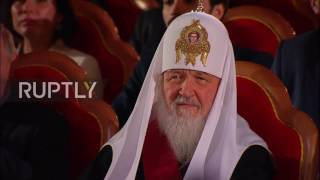 Russia: Putin and Lukashenko congratulate Patriarch Kirill on his 70th birthday