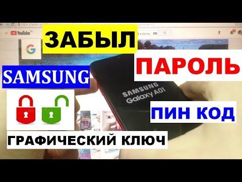 Вопрос: Как восстановить забытый пароль на Samsung Galaxy?