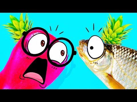 PINEAPPLE FISH Meets Slick Slime Sam