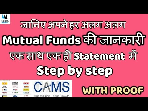 Consolidated MF Account Statement | Get details of all your various