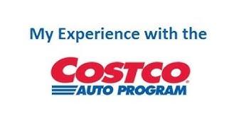 Costco Auto Program - My Experience