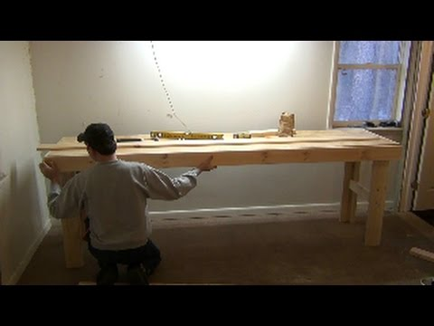 Building a Simple Wooden Work Bench