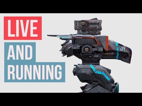 War Robots Live Stream! Trying to be better and enjoy at the same time.