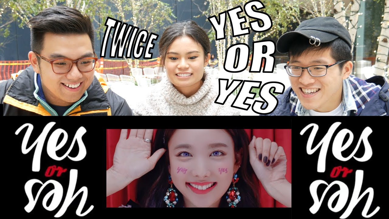 "TWICE - ""YES OR YES"" MV REACTION #1"