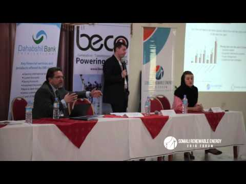 Plenary 5: Findings from the Somali Renewable Energy Skilled Workforce Survey