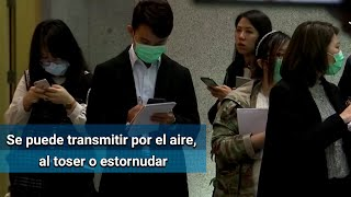¿Cómo se transmite el coronavirus o virus de Wuhan?