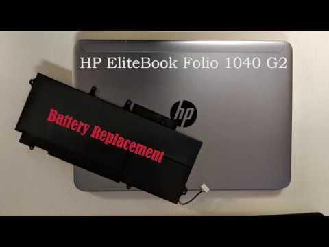 HP EliteBook Folio 1040 G2 Battery Replacement