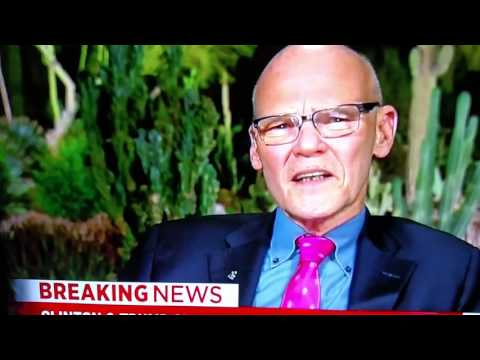 James Carville Speaks on Trump vs Clinton 1st Debate