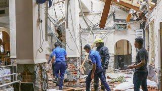 YouTube動画:スリランカで爆発の瞬間 カトリック教会やホテル狙われ
