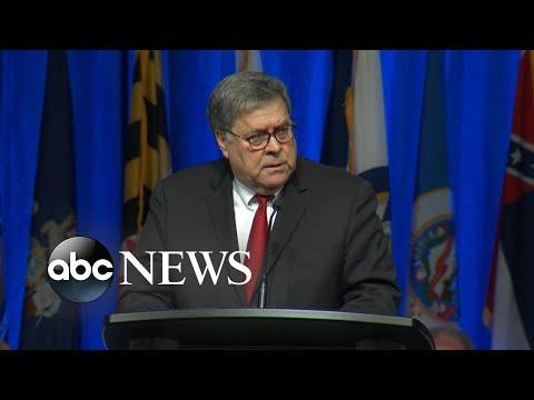 Barr describes 'serious irregularities' around Epstein's death l ABC News