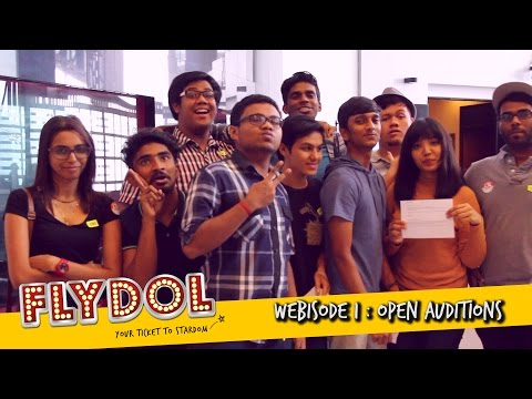 FLYDOL2017 - Open Auditions | #Webisode 1