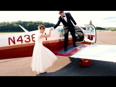Flying Out From Wedding in Mooney 201