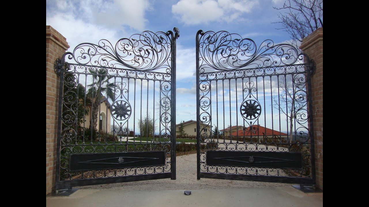 10 Best Wrought Iron Garden Gates   YouTube