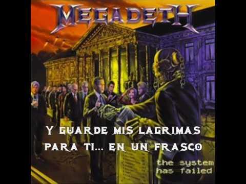 Megadeth - Tears in a vial (Lagrimas en un frasco)