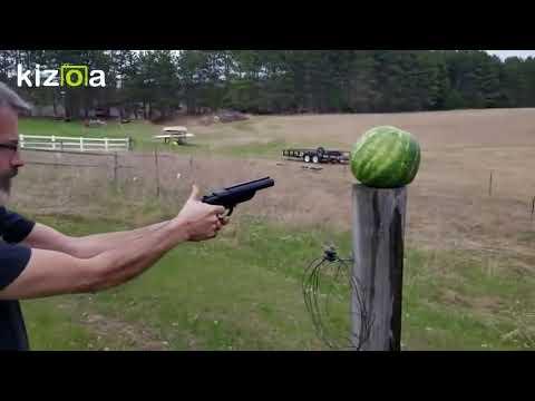 Diablo 12 Gauge Pistol vs Watermelon