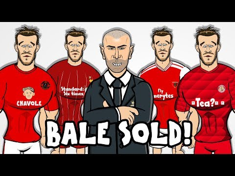 😲BALE SOLD!😲 Zidane gets his way! Man Utd? Arsenal? Bayern? PSG? Liverpool? (Transfer Parody)