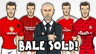 😲BALE SOLD!😲 Zidane gets his way! Man Utd? Arsenal? Bayern? PSG? Liverpool? (Transfer Parody)