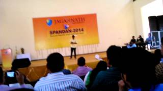 tere bin by Bharat spandan 2k14 (jagannath university)