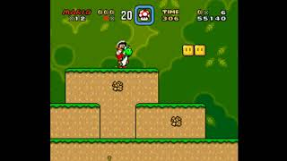 Super Mario World    Zone 3 SNes plataform game