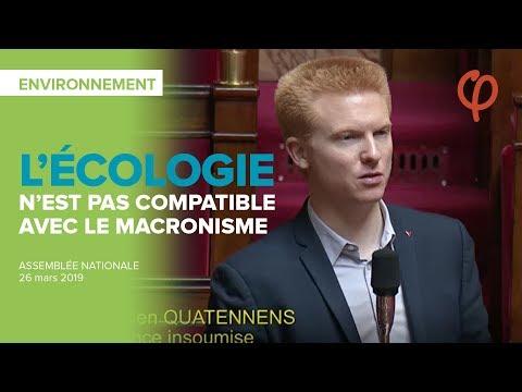 L'écologie n'est pas compatible avec le macronisme | Adrien Quatennens