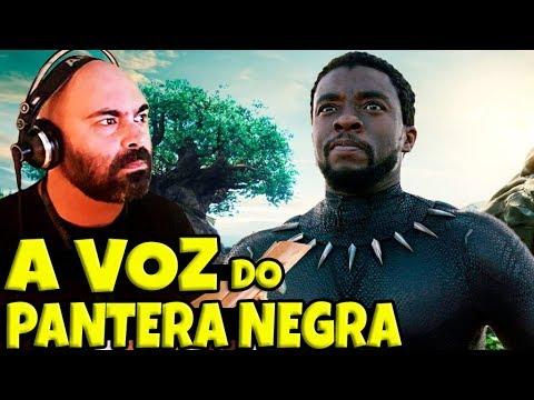 ENTREVISTA COM O DUBLADOR DO PANTERA NEGRA  RODRIGO OIRA