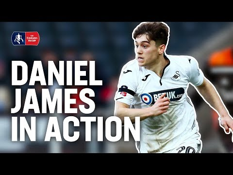 Daniel James:  Manchester United's New Signing in Action! Goals & Assists!| Emirates FA Cup