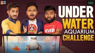 Under Water Aquarium Challenge || Ft. Anchor Ravi & Roll Rida || Kaasko