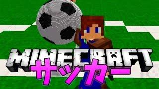【マインクラフト】サッカーをマイクラでやってみた!