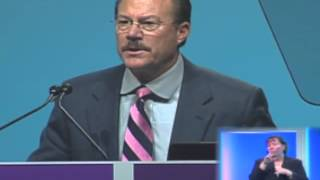 Mass. Secretary of Health John Polanowicz at the 141st APHA Annual Meeting in Boston
