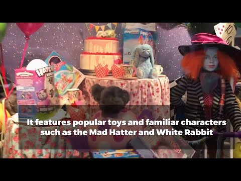 Jarrolds unveil their amazing 2017 Christmas Toy display