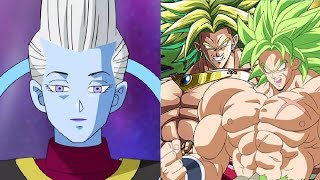 Broly vs Whis & Deities POWER LEVELS (Dragon Ball Super Movie 2018)