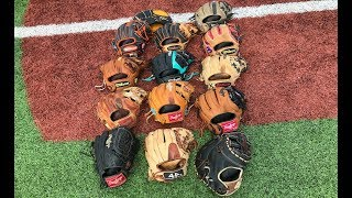 Baseball Glove Collection! *2019*