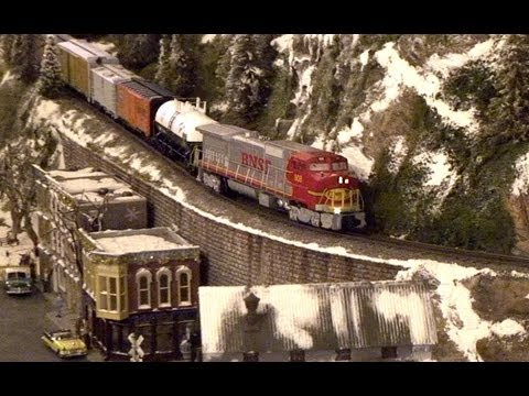 Modelling Railroad Toy Train Scenery -Unlimited Concepts For Engineering Incredible Lionel Train Set