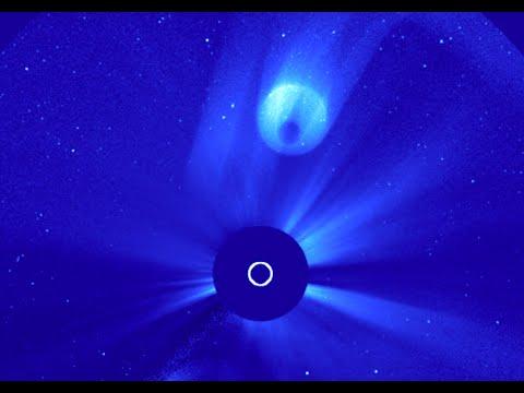 SOHO Spacecraft reveals mystery planet-like object near the Sun!