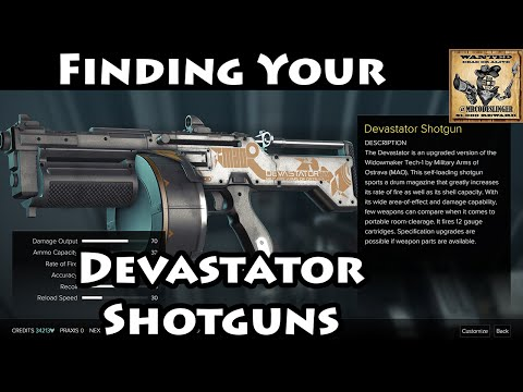 Deus Ex Mankind Divided - Finding Your Devastator Shotguns