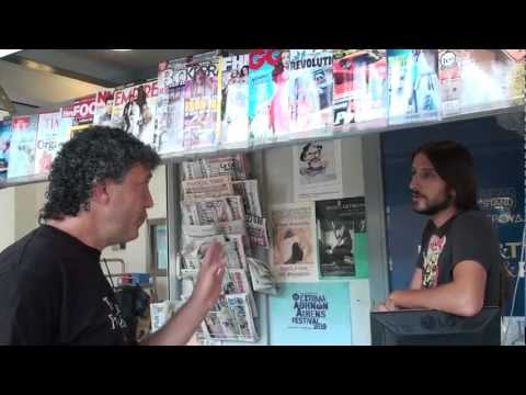 Former Soviet Citizen Confronts a Greek Who Supports Communism, Defends Che Guevara in Athens