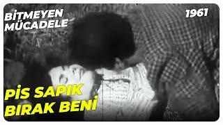 Bitmeyen Mücadele - Ağa Çalışanının Karısına Saldırdı   Muhterem Nur Ahmet Mekin   Yeşilçam Filmi