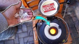 Wird GLAS im 1150 GRAD OFEN SCHMELZEN? - Experiment