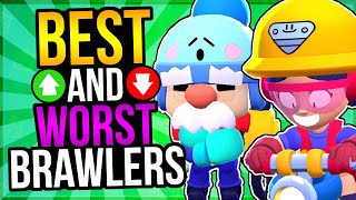 PROS RANK BRAWLERS for EVERY MODE! New TIER LIST Best + Worst Brawlers!