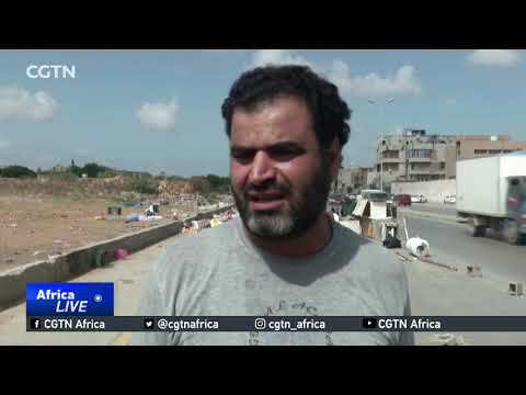 Decline of public services in Libya leaves mounds of rubbish on streets