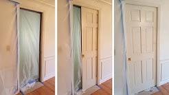 DIY Pocket  Door Repair. Ремонт двери