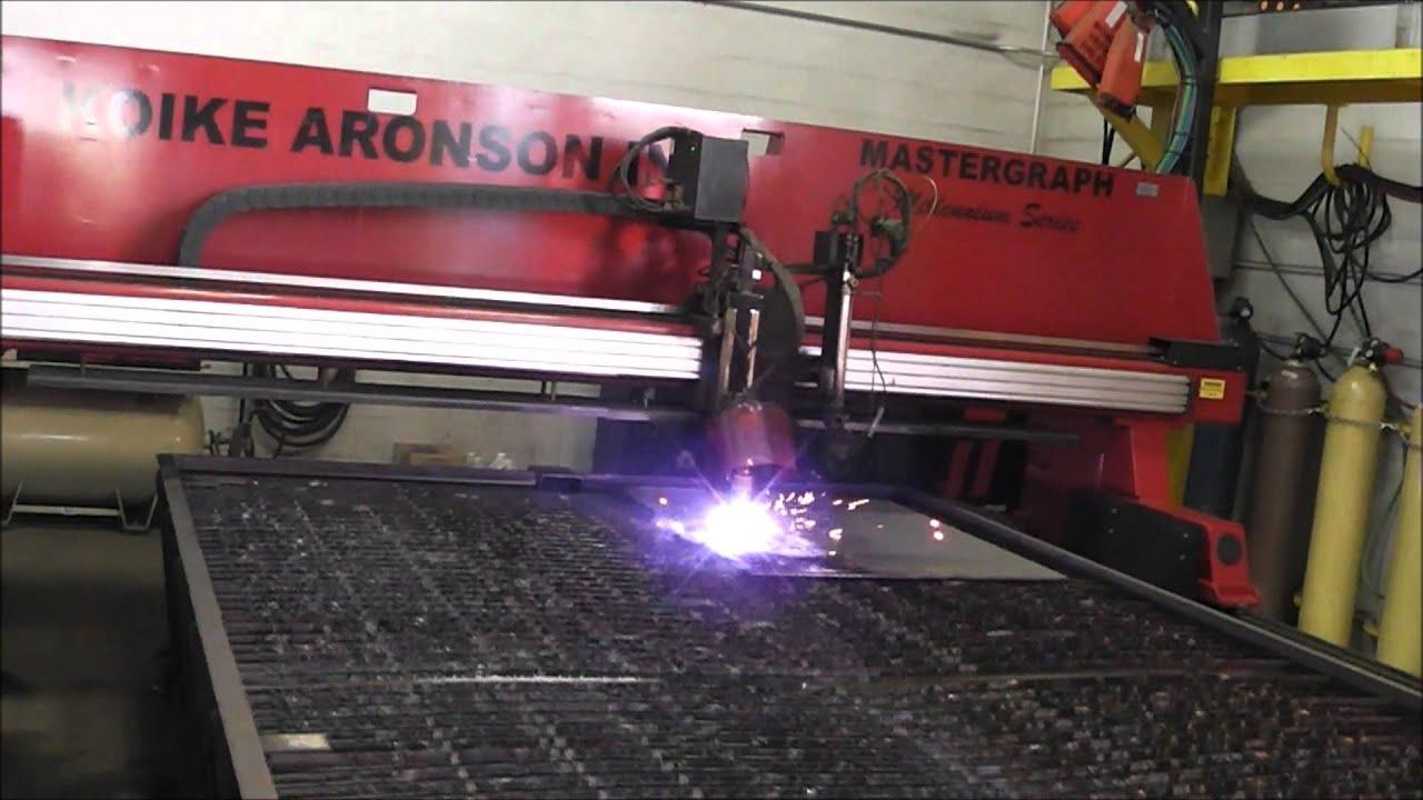 Koike Aronson Mastergraph Millennium Cnc Plasma Amp Oxy Fuel