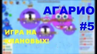 Голодные игры - круче Агарио №5 | Игра на клановых!