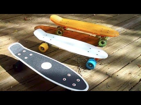Review Penny Skateboard Vs Globe Bantam Vs Stereo Vinyl