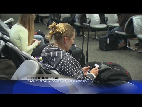 Not Ban aimed at electronics in cabins of some US-bound flights
