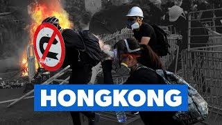 Hongkong: Fra jalousidrab til million-demonstrationer