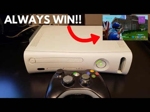 How To Play FORTNITE On The Xbox 360!! (Trick Your Friends)