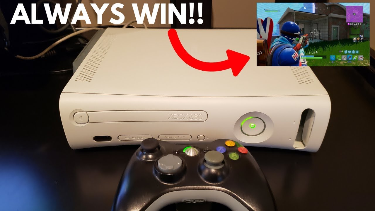 How to Play FORTNITE on the Xbox 360!! (Trick Your Friends ...