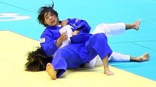 Judo 出口クリスタ × ロパー(3R) 柔道グランドスラム東京2013-1129